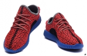 Adidas Yeezy 350 Boost Women Red Blue Black
