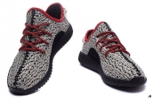 Adidas Yeezy 350 Boost Grey Black Red