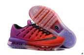 Air Max 2016 Women Red Purple Black