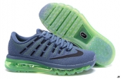 Air Max 2016 Women Dark Grey Black Green