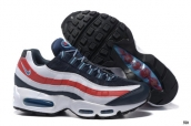 Air Max 95 Essential Navy Blue White Red