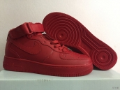 Nike Air Force 1 High Women Red