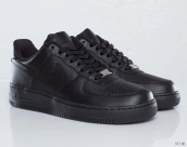 Nike Air Force 1 Low Women Leather Black