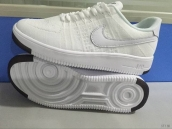 Nike Air Force 1 Flyknit Low Women White Black
