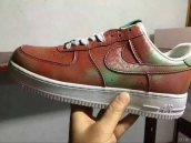 Nike Air Force 1 Low Women Chameleon Red Green White