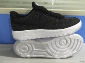 Nike Air Force 1 Flyknit Low Black White