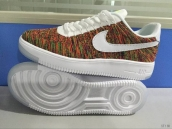 Nike Air Force 1 Flyknit Low Seven Colours White
