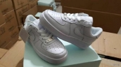 Nike Air Force 1 Kids Low White
