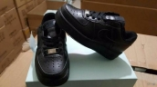 Nike Air Force 1 Kids Low Black