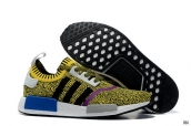 Adidas Originals NMD Yellow Black White Purple