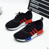 Adidas Originals NMD Kids Black Red Blue White
