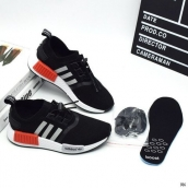 Adidas Originals NMD Kids Black White Red