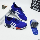 Adidas Originals NMD Kids Blue White Red Black