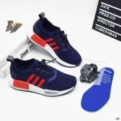 Adidas Originals NMD Kids Navy Blue Red White