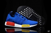 Adidas Originals NMD Blue White Red Yellow