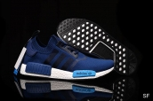 Adidas Originals NMD Navy Blue White Blue