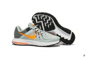 Nike Zoom Winflo 2 Light Grey Orange White