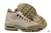 Air Max 95 Sneaker Boot Mid Brown Army Green