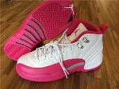 Super Perfect Air Jordan 12 Women Dynamic Pink 350