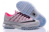 Air Max 2016 Women Grey Pink Black
