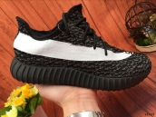 Adidas Kanye West Yeezy 550 Boost Black White