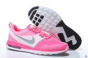 Air Max 87 III Women Flyknit Pink White Grey