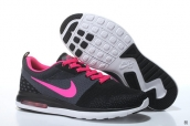 Air Max 87 III Women Flyknit Black Pink White