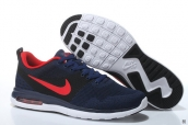 Air Max 87 III Women Flyknit Navy Blue Red White