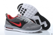 Air Max 87 III Flyknit Dark Grey Black Red White