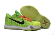 Nike Kobe X Low Greater Green Snake