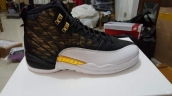 Air Jordan 12 AAA Wings Black White Golden 130
