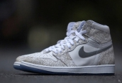 Air Jordan 1 Perfect Sculpture White