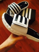 Adidas Slippers Women Superstar 3G White Black
