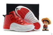 Air Jordan 12 Kid Red White