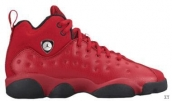 AAA Air Jordan 13 Women Red Black