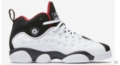 AAA Air Jordan 13 Women White Black Red