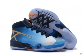 Air Jordan 30 Blue Orange Navy Blue