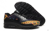 Air Max 90 Hyp Prm 2015 Black Navy Blue Yellow