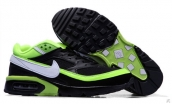 Air Max BW Black Fluorescent Green White