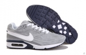 Air Max BW Suede Grey White Navy