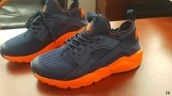 Presell Nike Air Huarache 4 Black Orange