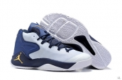 Jordan Melo M12 White Navy Blue Golden