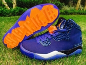 Jordan Spike 40 Knicks Purple Black Orange
