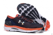 UA Speedform Gemini Navy Blue Orange White