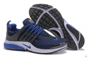 Nike Air Presto Flyknit Blue Black White