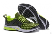 Nike Air Presto Flyknit Fluorescent Green Black White