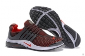 Nike Air Presto Flyknit Red Black White