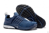 Nike Air Presto QS Navy Blue Silvery