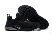 Nike Air Presto QS Black Silvery
