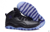 Air Jordan 10 Women AAA Black Purple